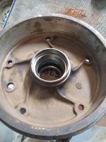 front brake drums
