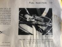Spark Plugs and FI Injecter test