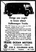 old vw ads