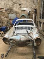 my 1960 ghia restoration project