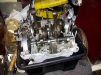 Building an engine in a plastic crate