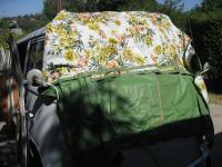 rear hatch tent