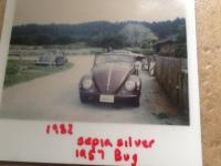 1956 Sepia Silver Cabrio