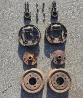 type III rear brakes - 4 bolt