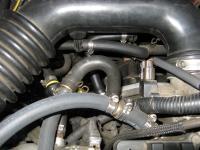 PCV hose layout Subaru