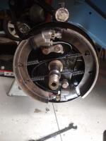 Front brake work