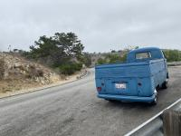 Driving along the Palos Verdes Coast