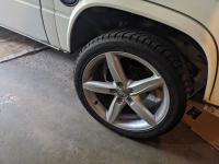 8x18 ET47 Audi rims on Vanagon