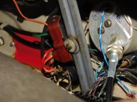 Bakelite turn signal relay on my '55 Deluxe Sunroof Beetle