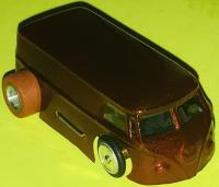 Vintage Lancer Ho Scale VW Bus Slot Car