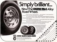 Cosmic Wheels Ad