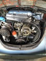 my 73 Super Beetle's engine compartment
