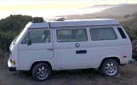 STOLEN 8/8/20 San Francisco- White 1986 Vanagon GL