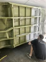 Garage paint work