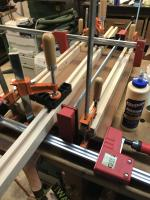 Glue Up of plywood
