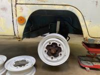 "Powder coated 14"" Bus Wheels"