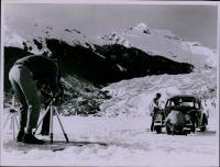 1967 Original Photo MENDENHALL GLACIER Alaska