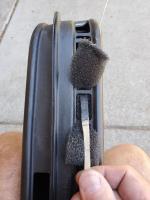 Rear vent foam replacement