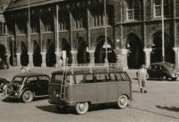 Pre 1953 Barndoor Deluxe Micro Bus with roof rack & ladder