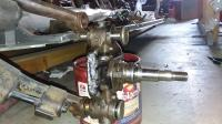 spindle and torsion arm on 1963 stock bug
