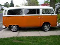 Orange Bus Tint Side