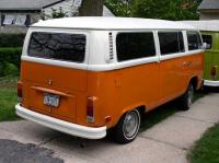 Orange Bus Tint Rear