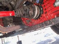 Blown CV boot repair