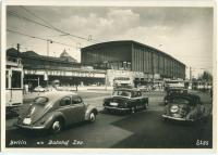 Ovals, Oval Convertible, Barndoor, and 356 outside the Bahnhof Zoo railway station in Berlin