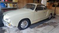 1967 Castillian Yellow Karmann Ghia Coupe