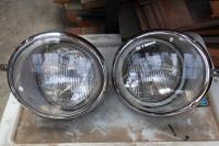 Hella Sealed beam headlights
