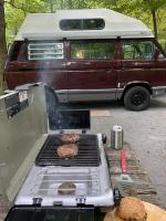 Euro bus grill stove