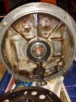 Front main seal leak. AutoStick SP