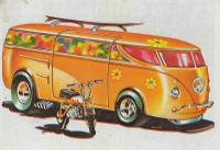 Hot Wheels Bus card