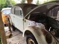 1966 beetle body on pan