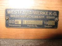 '67 Westy fabrik tag