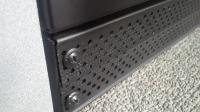 Truckfridge install lower vent build