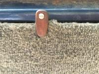 Hatch hinged panel
