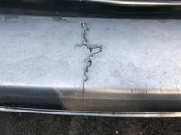 Crack on bumper of Wolfsburg