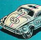 old Herbie toy box art