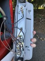 Late Bay Taillight Housing Wiring