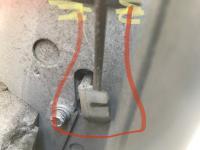 Door actuator and associated linkage