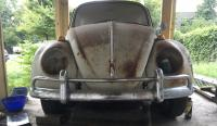 1966 beetle bumpers