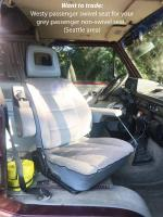 Westy seat and swivel