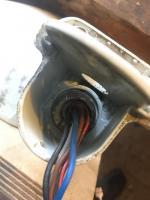 Power mirror nut fix