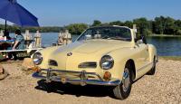 1967 Castilian Yellow Karmann Ghia Cabriolet