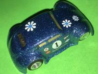 Vintage Modified Aurora T-Jet HO Scale VW Bug Slot Car