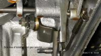 Automatic gearbox kickdown