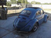 1963 ragtop bug dove blue