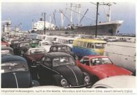 Long Beach Harbor post card