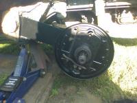 Replacing bearing